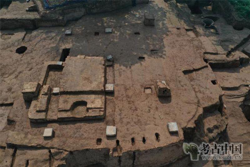 陕西华清宫朝元阁遗址考古清理出大型建筑基址