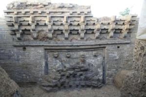 安徽:长丰埠里墓葬群新发现平顶墓葬