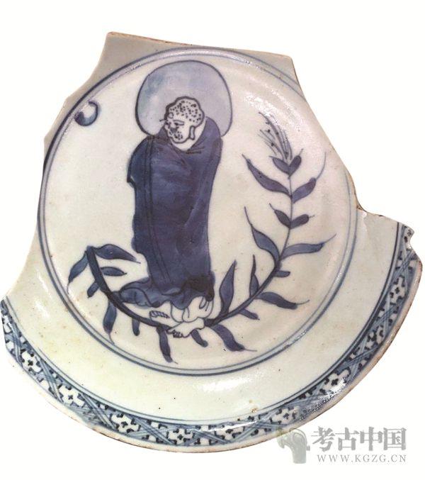 """胡剑明:明清瓷上""""达摩渡江""""与南京"""