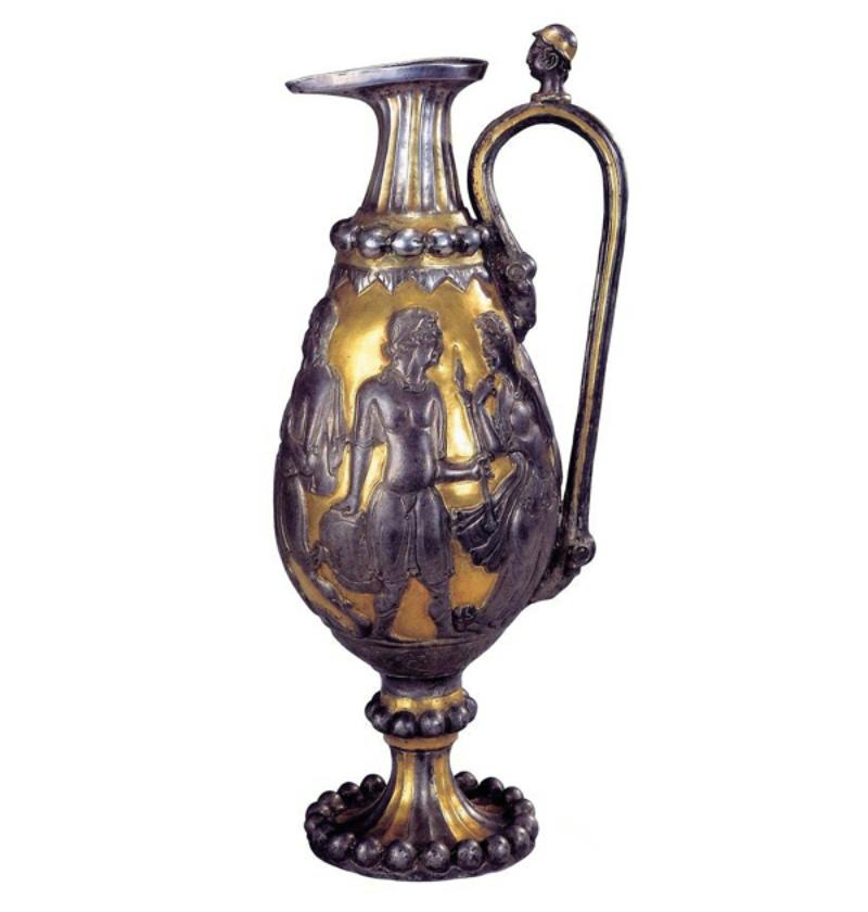 北周 · 鎏金银壶(宁夏固原博物馆)