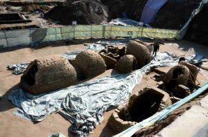山东:德州一建筑工地发现东汉古墓 将进行拆解保护