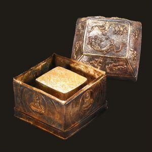 北宋 · 长干寺鎏金银函(南京市博物馆)