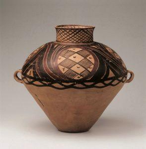 新石器 · 四大圈旋纹彩陶壶(甘肃省博物馆)