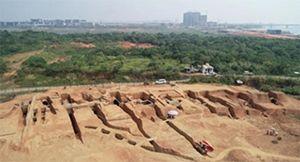2019全国十大考古终评入围:江西赣江新区七星堆六朝墓群