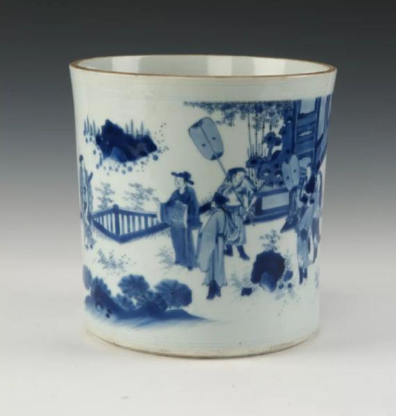 温州博物馆:明清青花瓷里的众生相