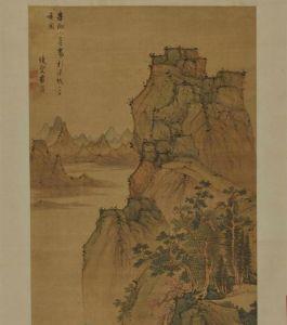 明代 · 唐寅《匡庐图》(安徽博物院)