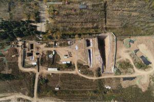 陕西:西安白鹿原发现西汉早期大型墓葬 其中出土2200余枚玉衣片