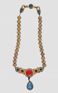 隋代 · 嵌珍珠宝石金项链(中国国家博物馆)