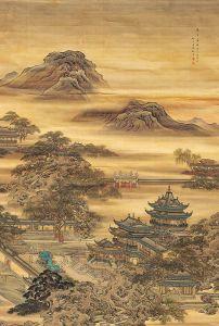 清代 · 袁耀《汉宫春晓图》(陕西历史博物馆)