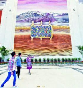新疆和田博物馆正式开馆 展出一千三百余件珍贵文物
