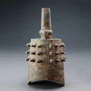 东周 ·  蟠螭纹铜甬钟(深圳博物馆)