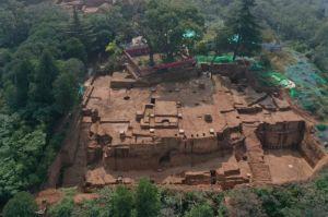 陕西:华清宫骊山朝元阁遗址显露,是盛唐皇家建筑设计最高水平代表