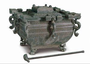 战国 · 青铜冰鉴(中国国家博物馆)