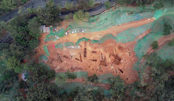 广州横枝岗再发掘一批墓葬