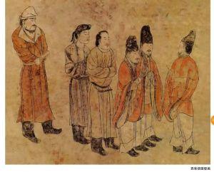 """王维坤:丝路来使图为证 读唐章怀太子墓""""西客使图""""壁画"""
