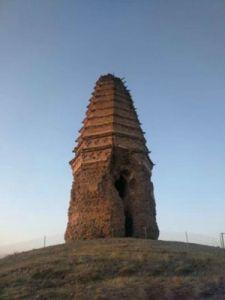 内蒙古赤峰市千年辽塔抢救性加固完成