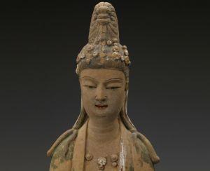 北宋 · 泥塑彩绘观音立像(浙江省博物馆)