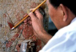河南:发现隋代汉白玉石棺床墓