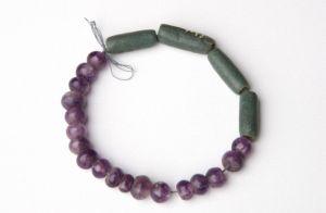 战国 · 水晶珠、玻璃管(湖南省博物馆)