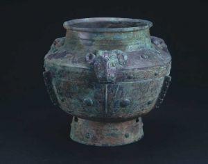 商代 · 三羊铜罍(首都博物馆)