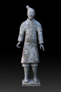 秦代 ·  陶武士俑(故宫博物院)