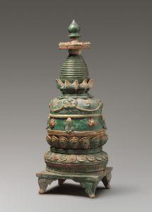 元代 · 琉璃塔(甘肃省博物馆)