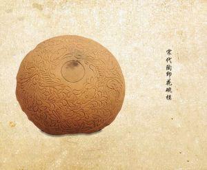 宋代 · 陶印花碗模(四川博物院)