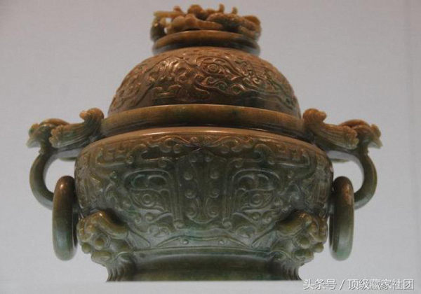 清代 · 玉炉(南京博物院)