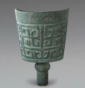 商代 · 象纹大铜铙(长沙博物馆)