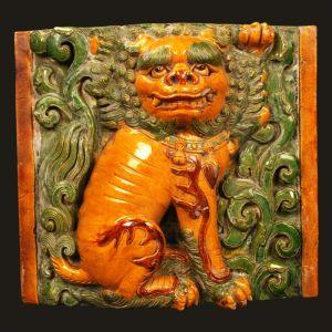 明代 · 大报恩寺琉璃构件(南京市博物馆)