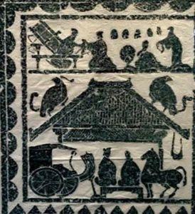 """运城博物馆:汉画像里的""""石上千秋""""——儒风往事,禾粟盈仓,三晋遗珍"""