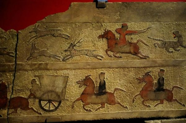 铁器时代 · 陕北画像石墓