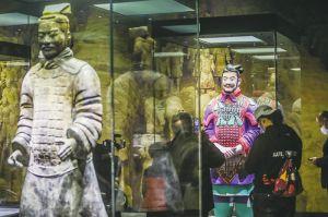 """""""秦文化大展""""为何成山东博物馆首个收费展览? 补经费不足,探索商业运作之路"""