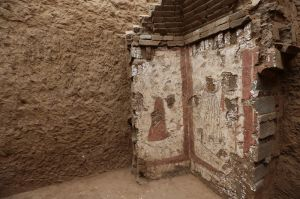 陕西:考古发现大量罕见唐代壁画