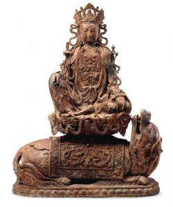 西夏 · 鎏金观音菩萨铜造像  (宁夏博物馆)