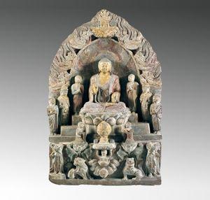 北齐 · 释迦七尊像(山西博物院)