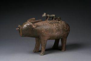 商周 · 牛尊(陕西历史博物馆)