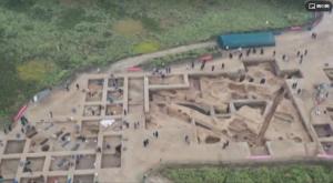 山西:夏县师村遗址发现距今6000年石雕蚕蛹