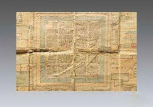 清代 · 满人四门官花园地图(宁夏博物馆)