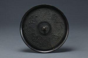 战国 · 四兽纹铜镜(深圳博物馆)