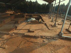 龙门石窟考古发现唐代塔基 初步推测为印度高僧墓塔