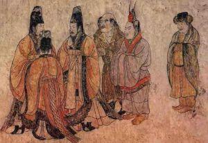 """王维坤:唐章怀太子墓壁画""""客使图""""辨析"""