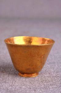 明代 · 金酒杯(贵州省博物馆)