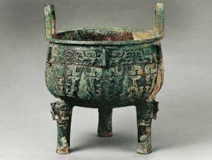 西周 · 兽面纹鼎(首都博物馆)