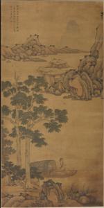 明代 · 《桐荫乐志图》堂幅(安徽博物院)