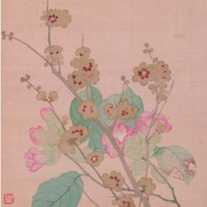 清代 · 恽寿平 花卉图册(上海博物馆)