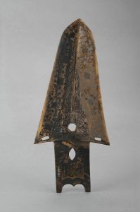 战国 · 兽面纹铜戈(四川博物院)