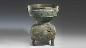 春秋 · 牛头双身蟠螭纹甗(山西博物院)