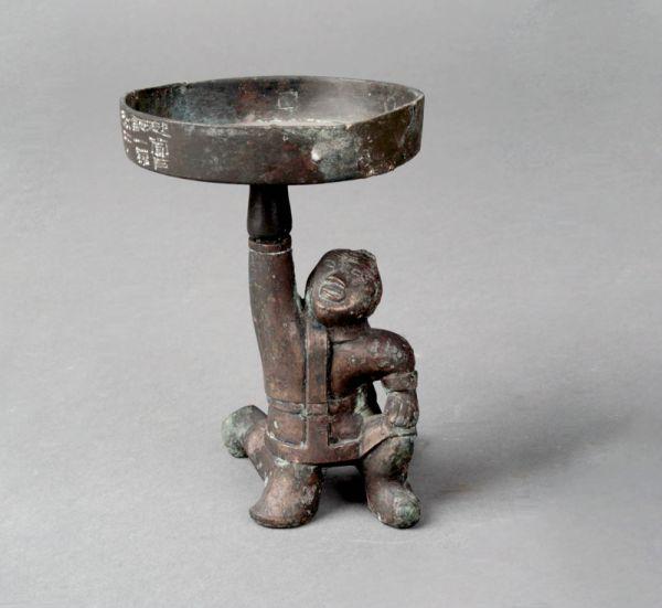 西汉 · 当户铜灯(河北博物院)