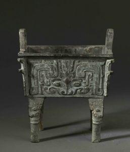 西周 · 厚趠方鼎(上海博物馆)